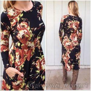 Dresses & Skirts - SALE || Perfect FALL Dress || Boot Ready!